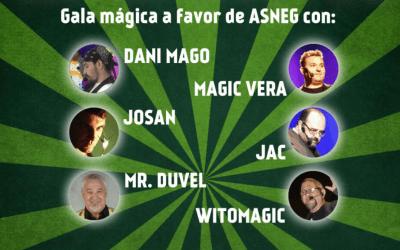 """El espectáculo """"La Magia que llevas dentro"""" llega el próximo 11 de noviembre al teatro municipal de olivares."""