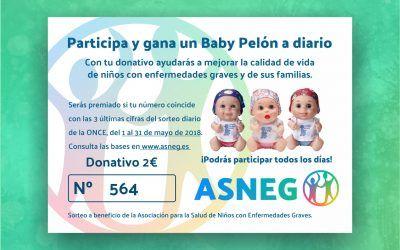 Sorteo de Baby Pelones de Juegaterapia